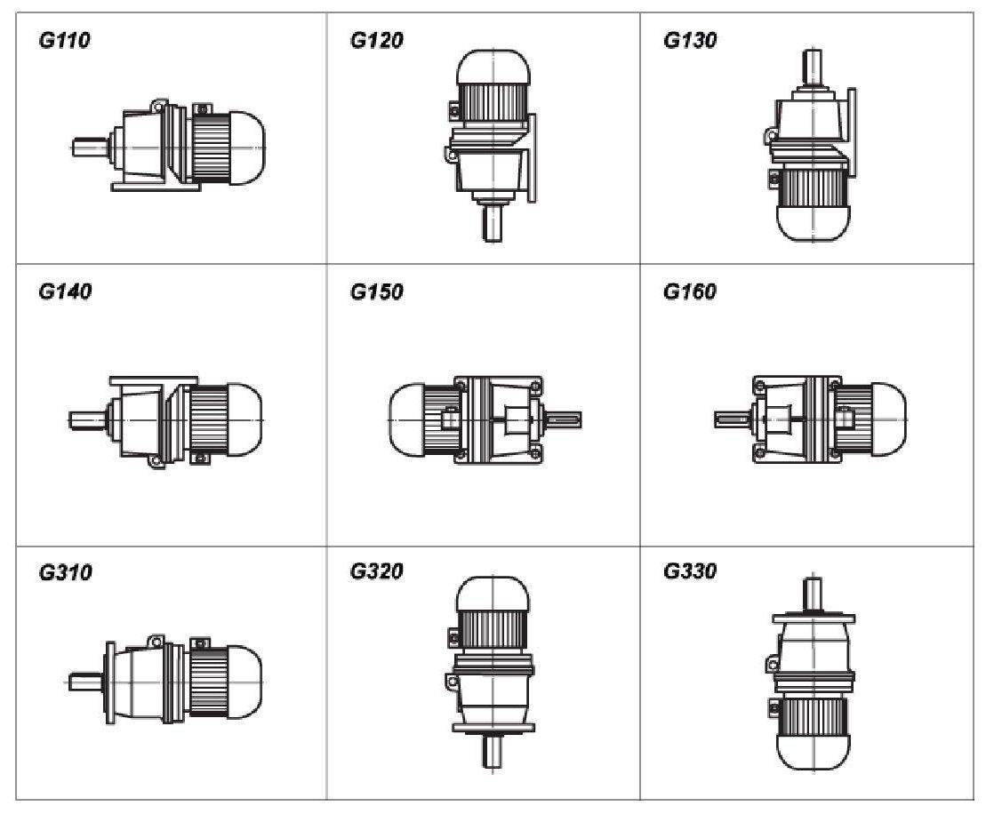 планетарный редуктор техническая схема